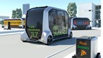 Toyota Unveils Self-Driving Shuttle