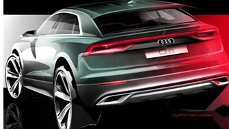 Audi Previews Q8 Crossover