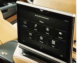 Bentley Touts High-Speed Wi-Fi Capability