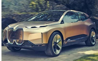 iNext Concept Previews BMW's Electric Flagship