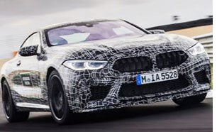 Bimmer M8 Coupe to Get 600-hp V-8