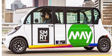 Ohio Begins Autonomous Shuttle Tests