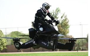 Dubai Police Testing Hoverbike