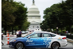 Ford Expands Self-Driving Car Tests to Washington, D.C.
