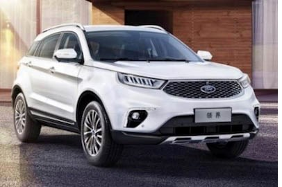 Ford Debuts Territory SUV for China