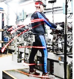 Ford Plant Workers Suit Up for Ergonomics