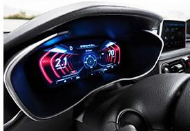 Genesis Sedan Adds 3D Instrument Cluster