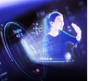 Hyundai Projects Future Hologram Tech