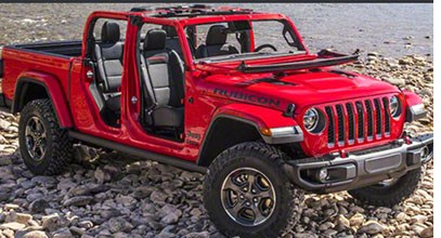 Jeep Gladiator Enters the Pickup Truck Arena
