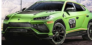 Lambo Shows Race Versions of Urus SUV