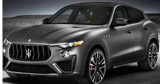 Maserati Adds 590-hp Variant to Levante SUV