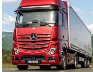 Mercedes Launches Semi-Autonomous Commercial Truck