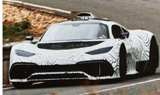 Mercedes Road Tests Hypercar Prototype
