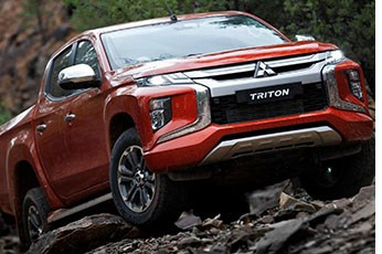 Mitsubishi Updates L200 Pickup Truck