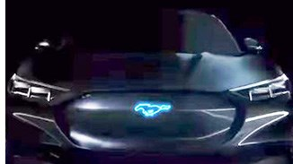 Ford Teases Mystery Mustang