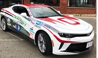 Ohio State Students Win EcoCar Challenge Again