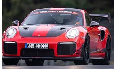 Porsche Retakes 'Ring Record