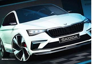 Skoda Concept Previews Hybrid Hatchback