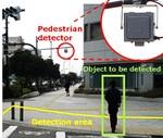 Sumitomo Touts V2I Pedestrian Detector