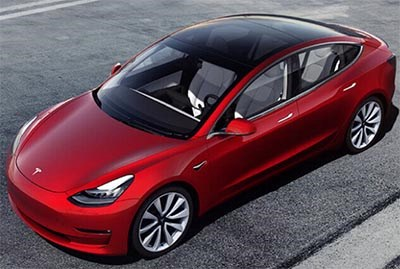 Tesla Model 3 Earns 5-Star U.S. Crash Rating