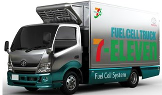 Toyota to Supply Fuel Cell Trucks and Generators to 7-Eleven Stores in Japan