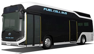 Toyota Fuel Cell Bus Bows in Japan