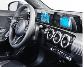 Visteon Cockpit Tech Debuts in Mercedes A-Class