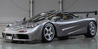 1994 McLaren Auctioned for Nearly $20 Million