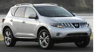 Nissan Recalls Murano Crossovers for Brake Flaw