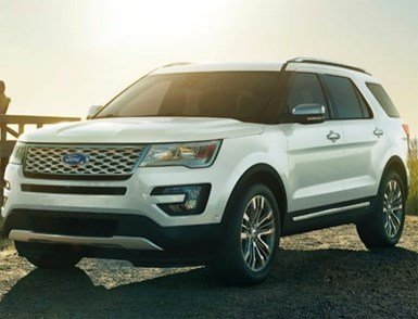 Ford Recalls SUVs with Sharp-Edge Seat Frames