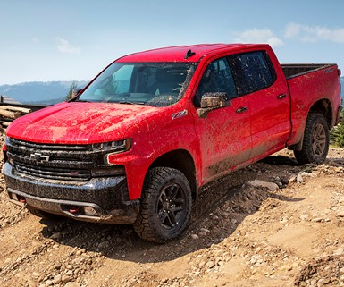 Off-Road Chevy Silverado in the Works?