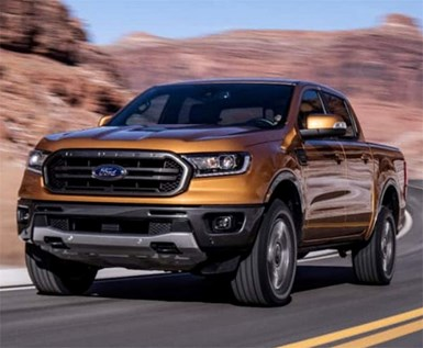 Ford Recalls Ranger Pickups for Taillamp Flaw