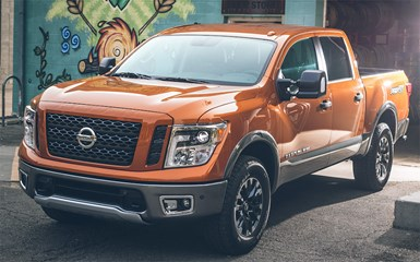 Nissan Recalls Late-Model Titan Pickups