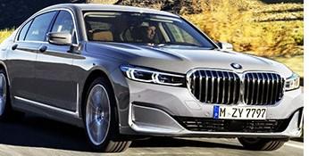 2020 BMW 7 Series Sports Massive Grille, Hybrid Option