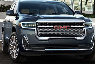 GMC Acadia SUV Gets Mid-Cycle Makeover