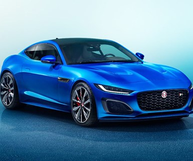 Jag F-Type Gets New Look