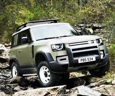 New Land Rover Defender Sizes Up, Adds Tech