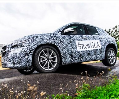 Redesigned Mercedes GLA Gets SUV Look