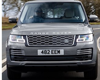 Range Rover Gets New Engine, Adjustable Headlights