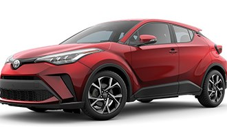 Toyota C-HR Crossover Gets Mid-Cycle Update