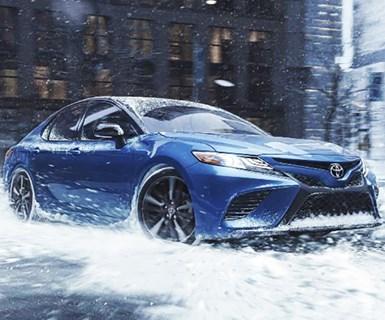Toyota Sedans Get All-Wheel-Drive Option