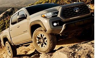 Toyota Freshens Tacoma Pickup