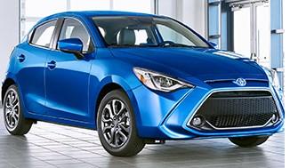 Toyota Revives Yaris Hatchback