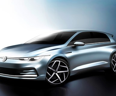 VW Sketches New Golf