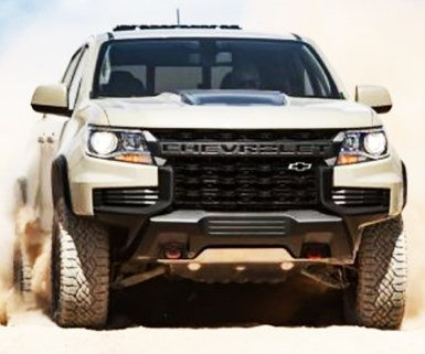 Chevy Colorado Pickup Gets New Look