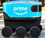 Delivery Robots Nudging in on Sidewalk Traffic