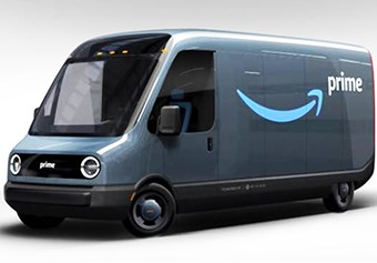 Amazon electric delivery van
