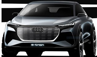 Audi Previews Sporty Electric Crossover