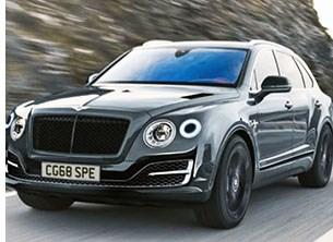 Bentley Revs Up Bentayga SUV