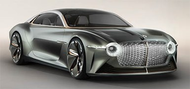 Bentley Unveils Futuristic EV Concept